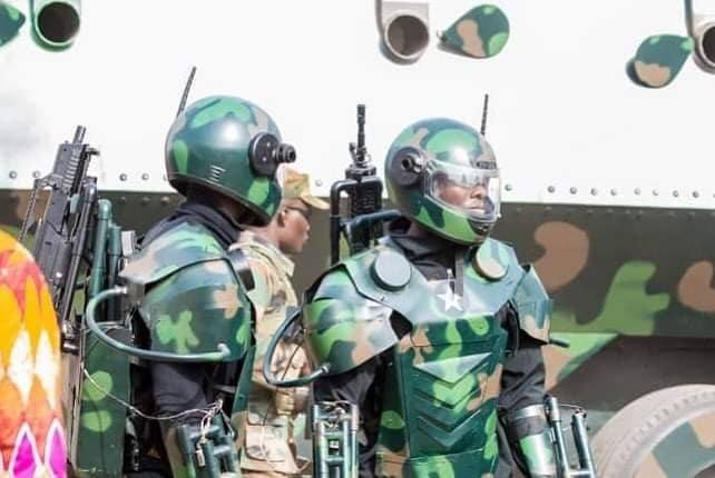 Kantanka latest armour